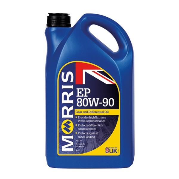 Dầu hộp số tay, số sàn, dầu cầu EP 80W-90 Gear oil GL5 5L