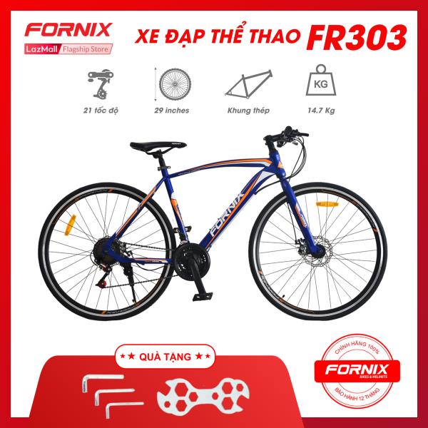 Phân phối Xe đạp thể thao Fornix FR303- Vòng bánh 700C (KEM SÁCH HƯỚNG DẪN) - Bảo hành 12 tháng + Tặng(Bộ lắp ráp)