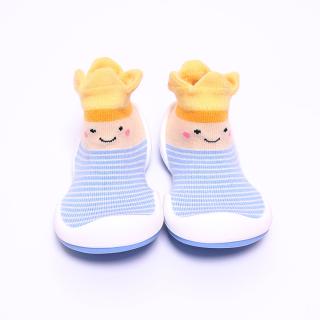 CROWN BLUE - Giày tập đi cho bé cưng MADE IN KOREA