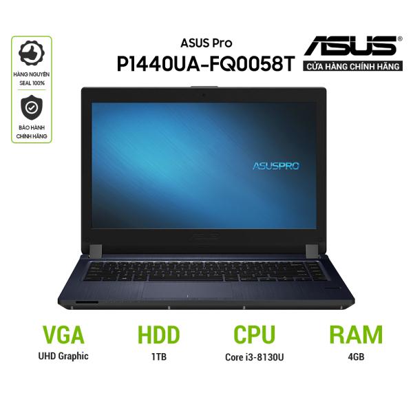 Bảng giá Laptop ASUS P1440FA-FQ0085T (i3-8145U) 14 inch - màu XÁM Phong Vũ