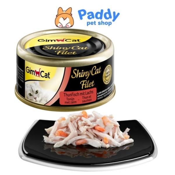 Pate cho mèo GimCat Shiny Cat Filet nhiều vị lon 70g (Nhập khẩu Đức)