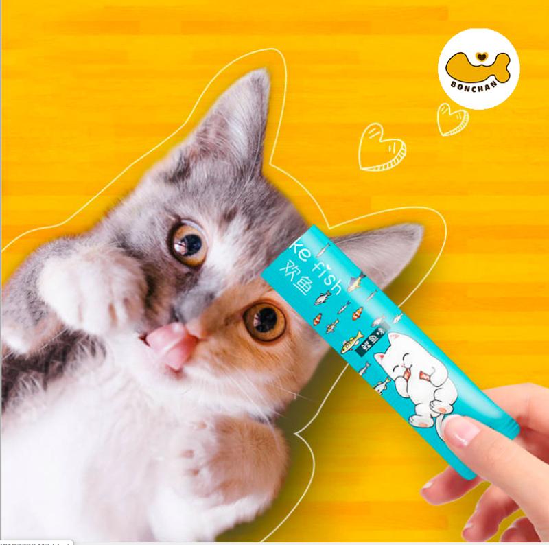 1 thanh súp thưởng cho mèo dinh dưỡng