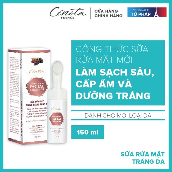 Sữa rửa mặt trắng da Cénota Whitening Facial Cleanser 150ml giá rẻ