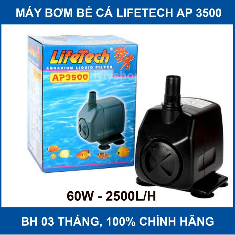 Máy Bơm Nước Hồ Cá LifeTech AP3500 28W Cho Bể 2.5 - 4m, BH 3 tháng, 1 đổi 1 trong 7 ngày đầu - Máy Bơm Nước Bể Cá Cao Cấp.
