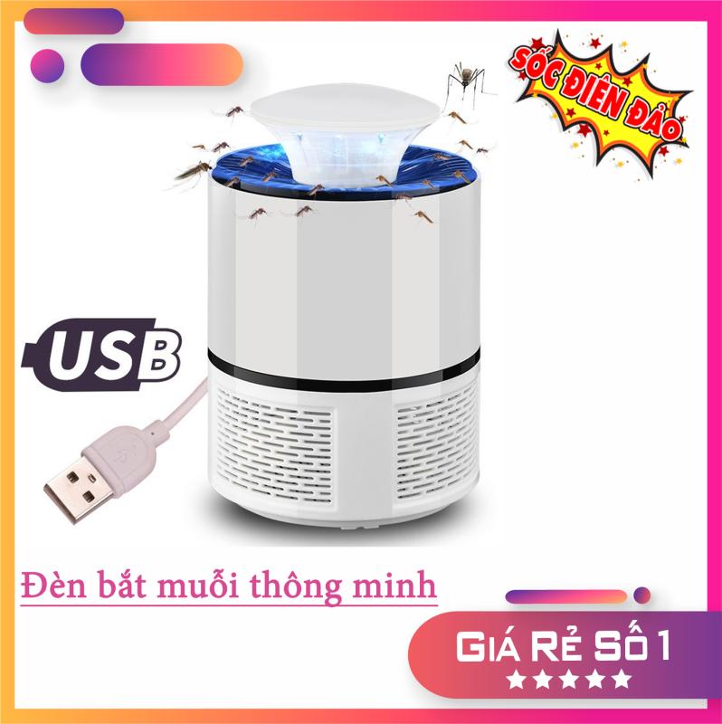 Đèn Bắt Muổi Thông Minh Thế Hệ Mới, Máy Bắt Muỗi Tự Động Hiệu Quả Cao Lên Đến 99% , ĐÈN BẮT MUỖI KILLING NGUỒN USB.