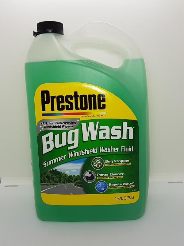 Nước Rửa Kính Ô Tô Prestone Bug Wash 3,78 lít