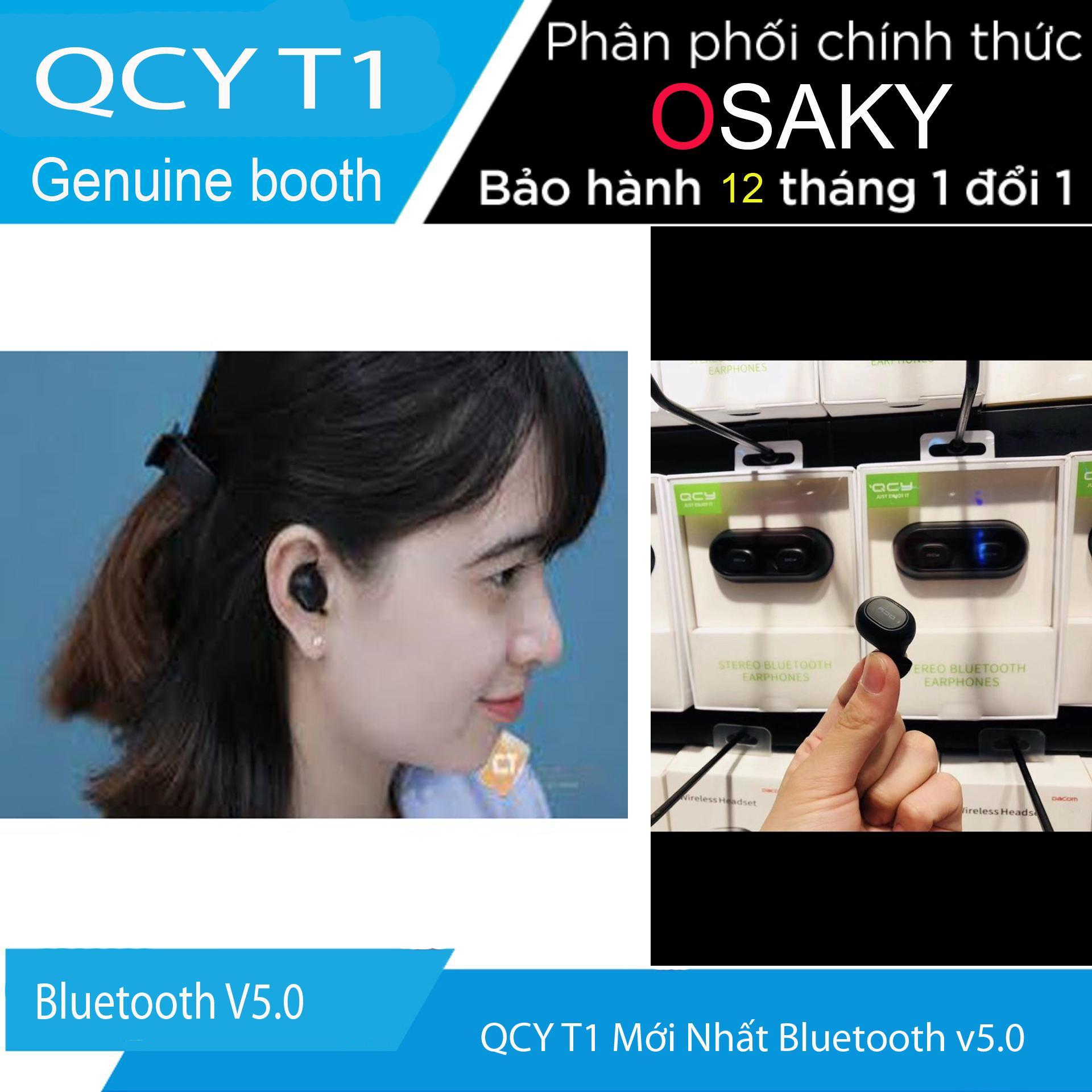 QCY T1 Bluetooth v5.0 mới nhất 2019