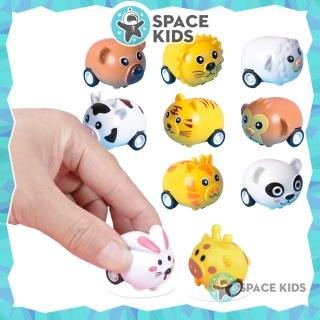 Đồ chơi cho bé động vật chạy cót ngộ nghĩnh, đồ chơi trẻ em con thú chạy đà giúp bé vận động - SKC2, chất liệu nhựa ABS thumbnail