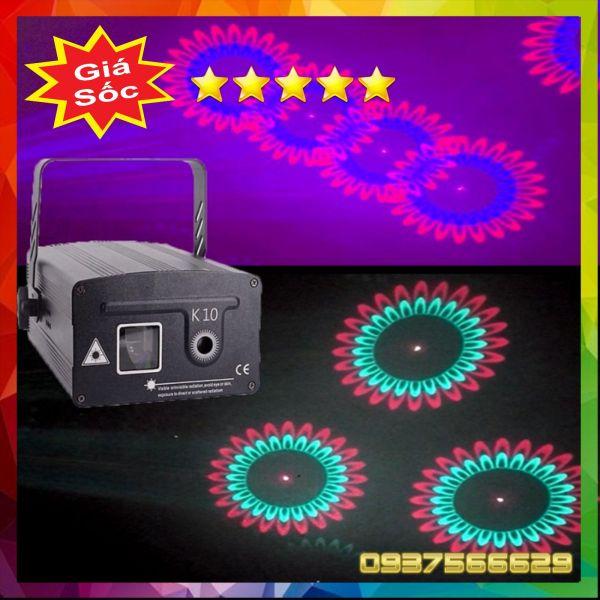 Đèn Bay Phòng Đèn Laser K10 Chiếu Hình 3D Cho Phòng Bay, Phòng Karaoke - StageLight