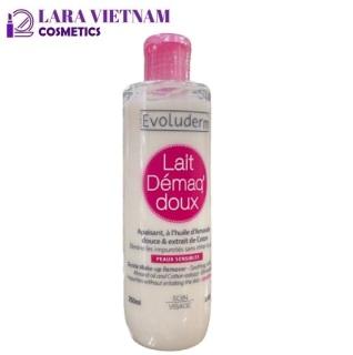 [CHAI HỒNG cho da thường, khô] Sữa Tẩy Trang Evoluderm Gentle Make-Up Remover 250ml dành cho da nhạy cảm thumbnail