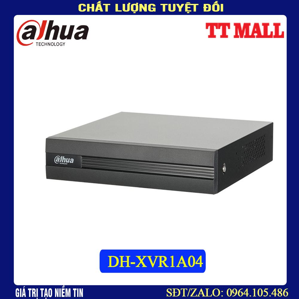 Đầu ghi hình Camera Dahua 4 kênh DH-XVR1A04- HÀNG CHÍNH HÃNG