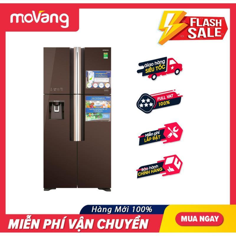 Tủ Lạnh HITACHI Inverter 540 Lít R-FW690PGV7X(GBW)