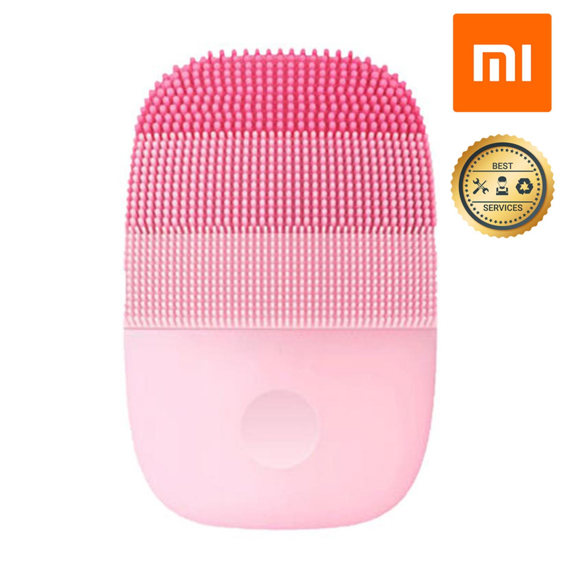 Máy rửa mặt sóng âm Xiaomi InFace MS-2000 ( Hồng) YP3008055 chống nước chuẩn IPX7 - Hàng Chính Hãng