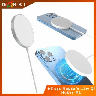 Đế sạc không dây MagSafe 15W Wireless Charger 15W Qi cho điện thoại 12, 12 Promax , iphone 11 Samsung Huawei Oppo thumbnail