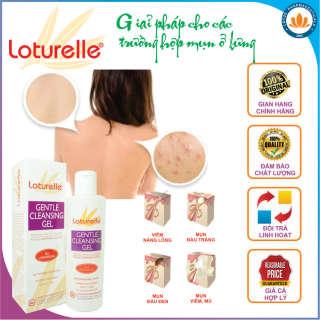 [HCM][FREESHIP + QUÀ 49K] Loturelle Gentle Cleansing Gel Gel tắm dịu êm cho da nhạy cảm hương thơm bền lâu hiệu quả cho trường hợp mụn trứng cá ở lưng & ngực Tặng tuýp kem chống nhiễm khuẩn ngoài da 49K Lotus Pharmaceuticals. thumbnail