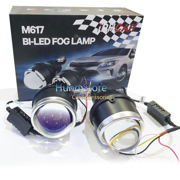 Bộ 2 đèn bi cầu gầm 3 inch Q7 liền bóng led cao cấp IPH, độ bền cao,dễ lắp đặt,độ phủ rộng,ánh sáng thực mạnh mẽ, ánh sáng  4300K/40W HIgh/Low BH18T