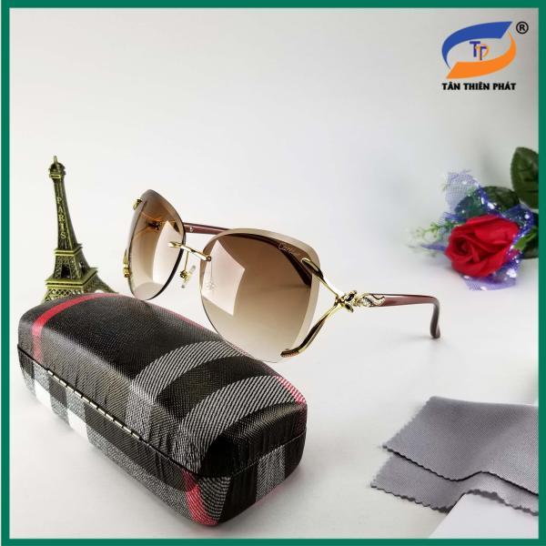 Giá bán Kính mát nữ thời trang chống tia UV - Mắt kính nữ cao cấp 2020  - Mắt kính mát nữ