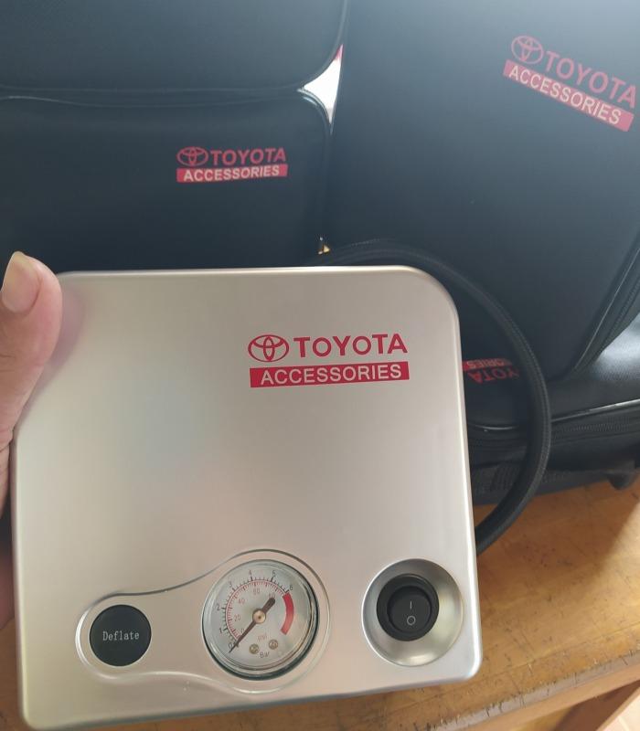 Máy bơm lốp ôtô Toyota chính hãng mạnh mẽ và siêu bền - Bạn đồng hành trên những chuyến đi xa