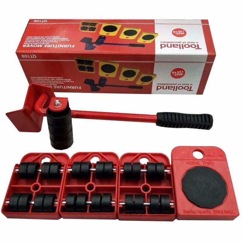 Bộ dụng cụ di chuyển đồ thông minh Toolland , dụng cụ di chuyển đồ đa năng, dụng cụ di chuyển vật nặng, dụng cụ di chuyển đồ đạc