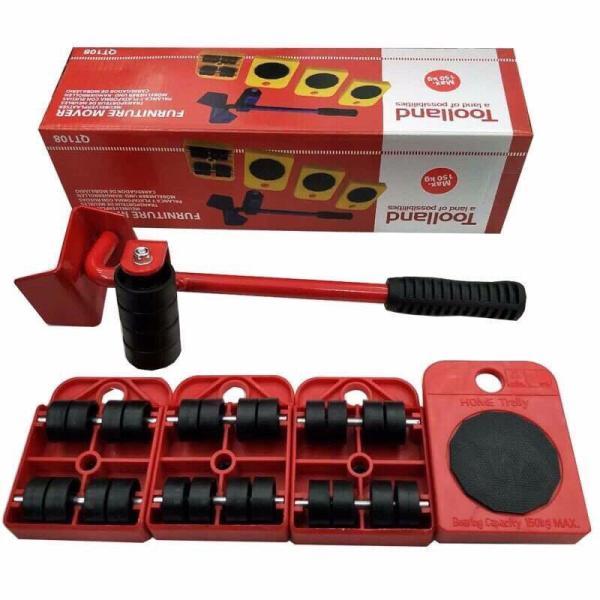 Bộ dụng cụ di chuyển đồ thông minh Toolland  dụng cụ di chuyển đồ đa năng dụng cụ di chuyển vật nặng dụng cụ di chuyển đồ đạc