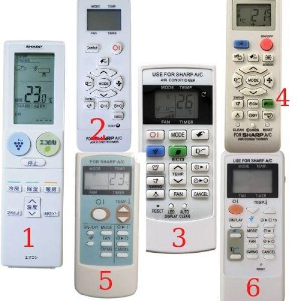 Điều khiển, remote điều hoà nhiều loại giá rẻ