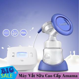 Dụng cụ hút sữa mẹ, Máy hút sữa rẻ và tốt, Máy vắt sữa AMAMA cao cấp, công nghệ mới hiện đại, út nhẹ nhàng êm ái, không đau rát. thumbnail
