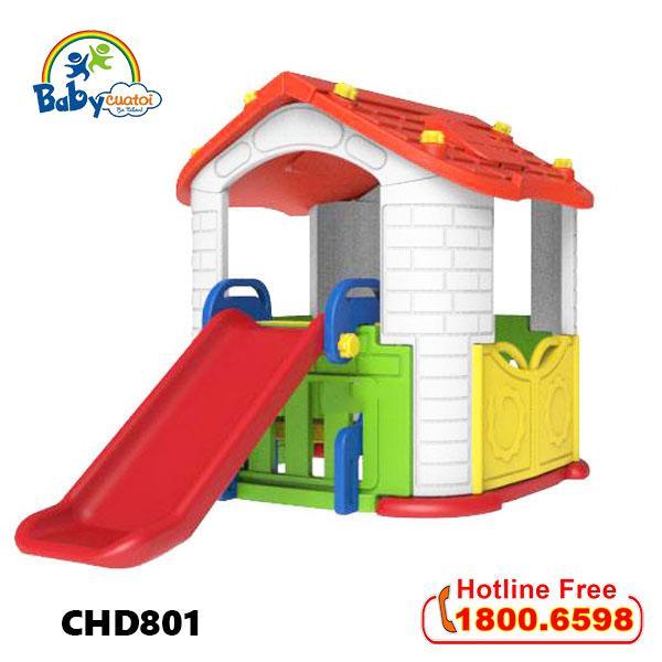 Giá bán Nhà chơi cầu trượt Hàn Quốc cho bé CHD801