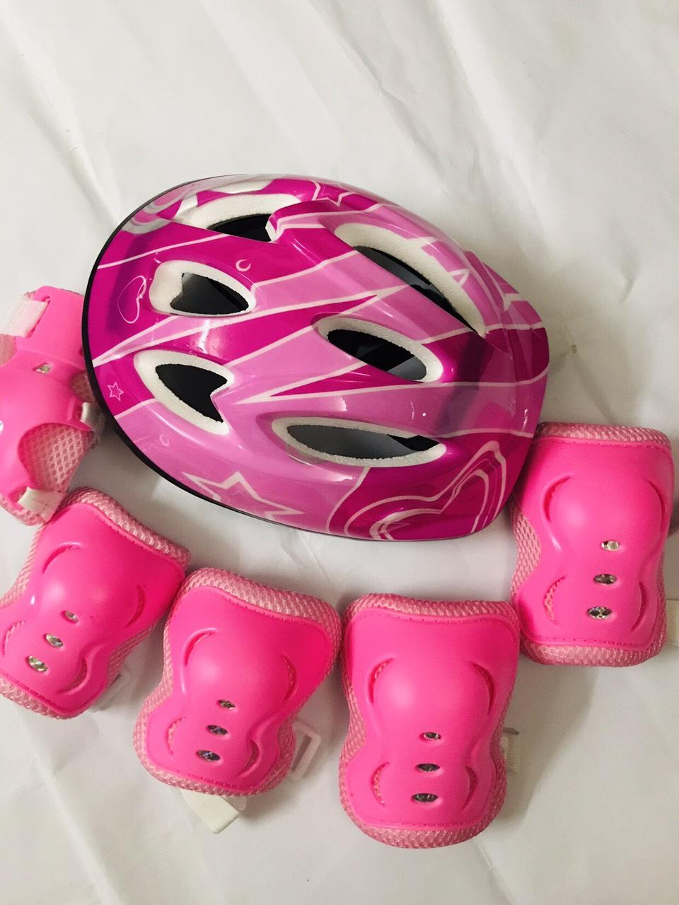 Mua Combo Mũ - Bộ Bảo hộ bảo vệ (Chân, Tay, Khuỷu) chuyên Dụng dành cho bé chơi TRƯỢT TUYẾT, TRƯỢT PATIN, ĐI XE ĐẠP