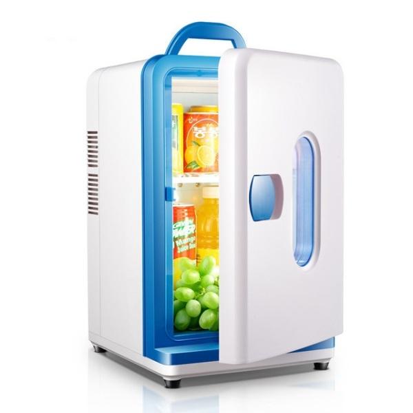 Tủ lạnh mini 15L trên ô tô ( Có thể dùng trên ô tô hoặc gia đình, kí túc sinh viên )