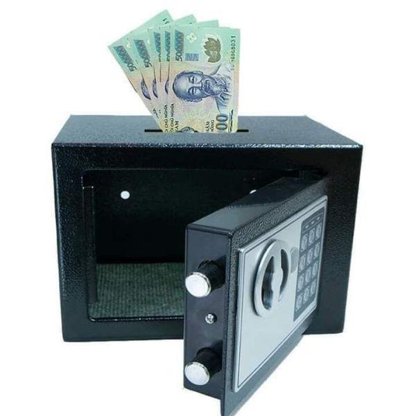két sắt khóa mã số tiết kiệm tiền thông minh tiện lợi cho mọi nhà