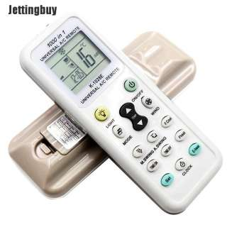 Jettingbuy K-1028E Không Dây Thông Dụng Điều Khiển Từ Xa LCD Kỹ Thuật Số AC, Cho Điều Hòa Không Khí