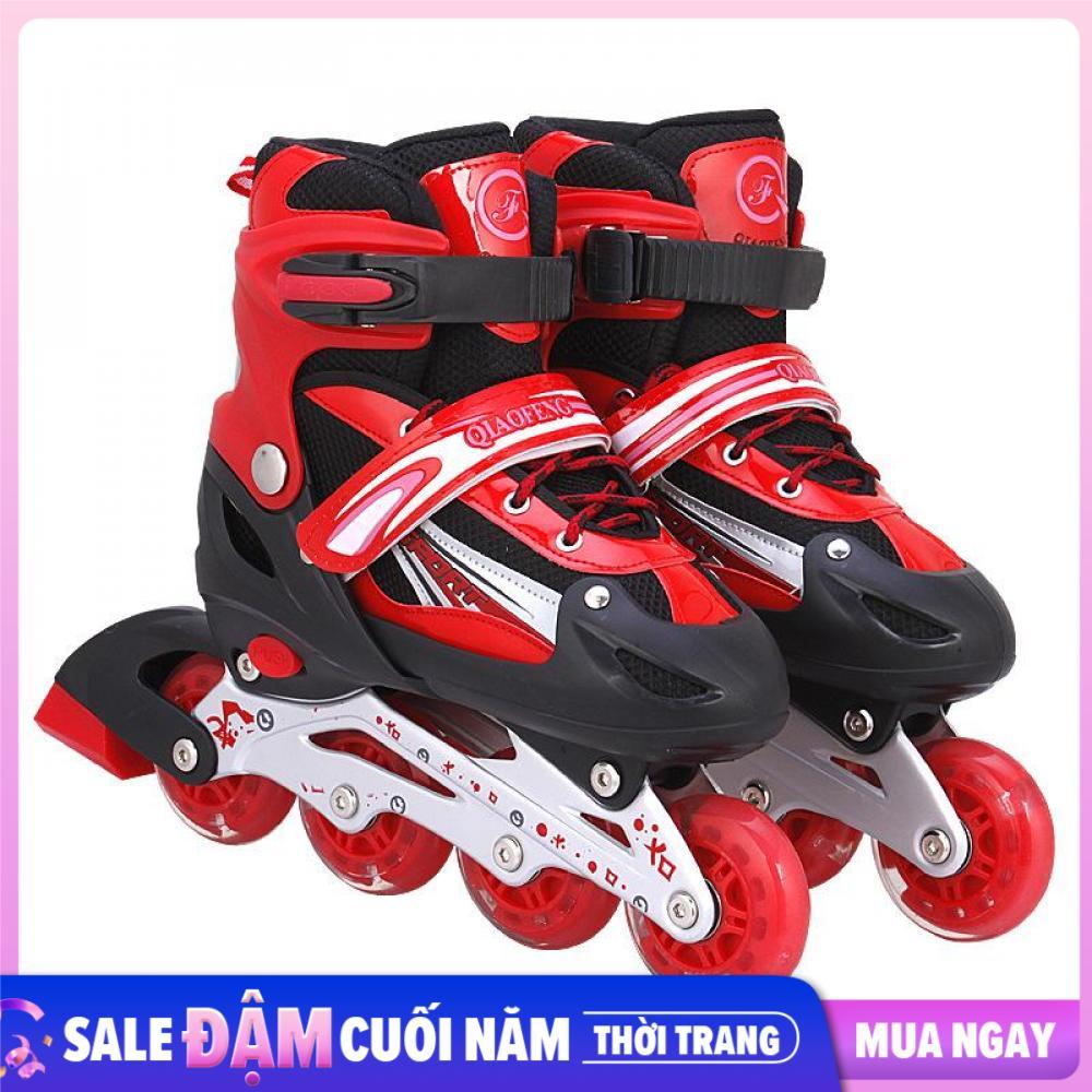 Giày Trượt Patin Trẻ Em ,Người Lớn Cao Cấp Bánh Xe Phát Sáng SP38 Giảm Giá Khủng