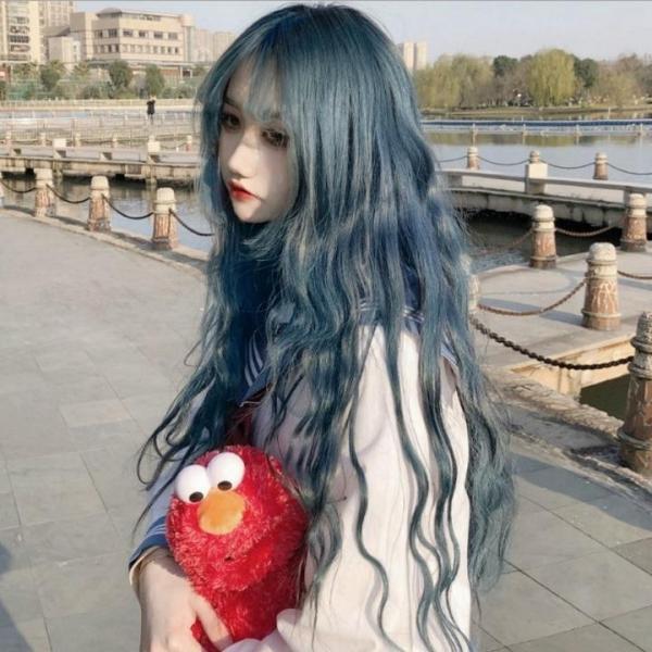 Tóc giả nữ Hàn Quốc + Tặng kèm lưới T251