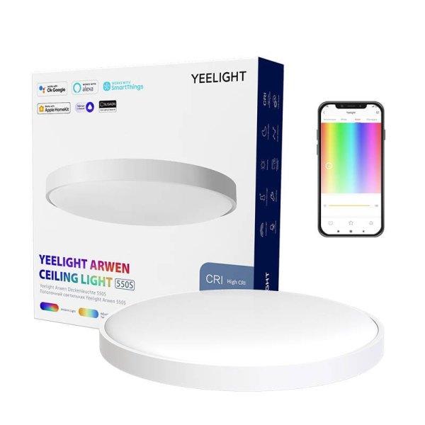 Bảng giá [2021 Bản Quốc Tế] ĐÈN LED ỐP TRẦN THÔNG MINH YEELIGHT 550S - YLXD013A - 50W - Led RGB hắt trần - Hỗ trợ Homekit