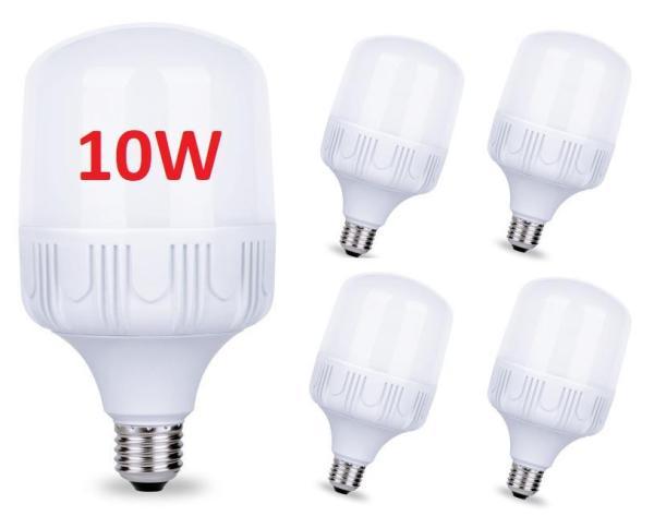 Bộ 5 bóng đèn Led 10W cao cấp tiết kiệm điện