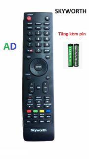 Điều Khiển TiVi SKYWORTH bản to có nút Youtube ở mé bên tay trái ,Remote Điều Khiển TiVi Skyworth SMART LED LCD thumbnail