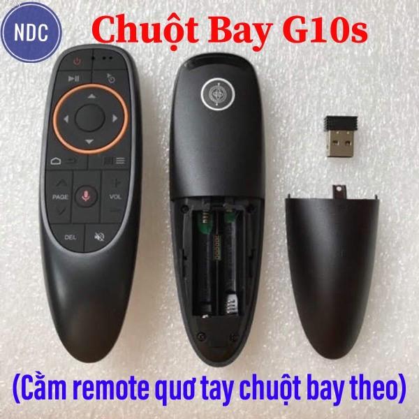 Chuột Bay G10s Hỗ Trợ Tìm Kiếm Giọng Nói 1 Chạm 1 Nút Học Lệnh