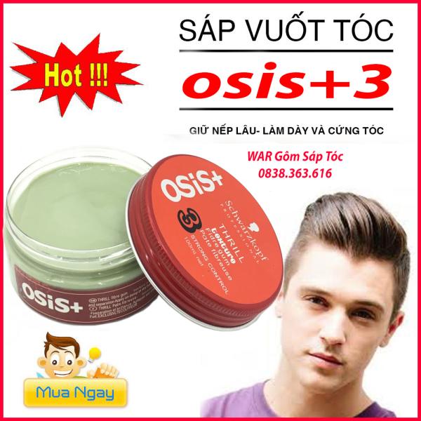 [hot hot]SÁP vuốt tóc NAM NỮ  OSIS +3 siêu cứng CHUẨN SALON