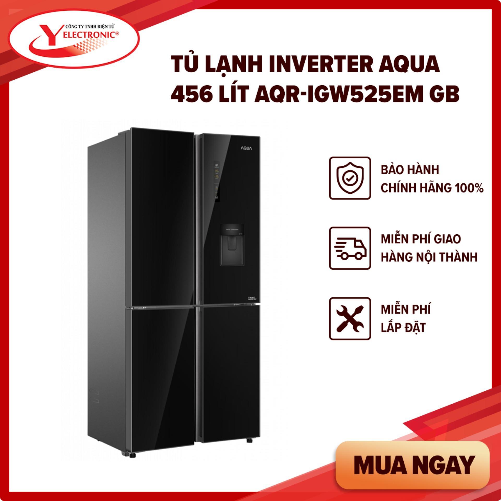 Bảng giá Tủ Lạnh Inverter Aqua 456 Lít AQR-IGW525EM GB Điện máy Pico