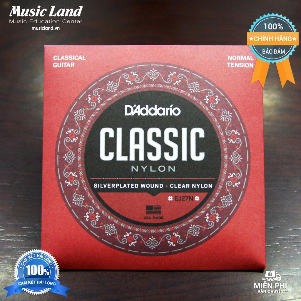 Dây Đàn Guitar Classic D-Addario EJ27N