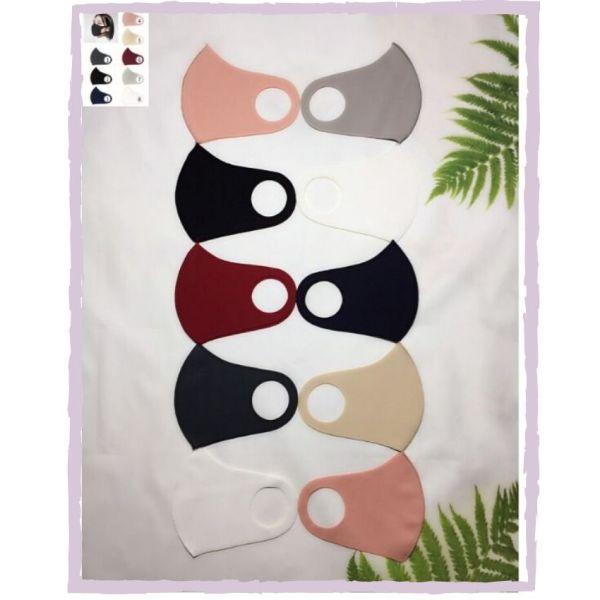 Khẩu trang vải Poly (1 cái) - có thể giặt sử dụng lại nhiều lần -Freesize -Unisex - Red Ant Kids.