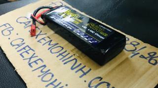 pin lipo 2s 7.4v 5400 30c chuyên dụng cho đồ chơi điều khiển như xe, tàu và flycam chơi 40p thumbnail