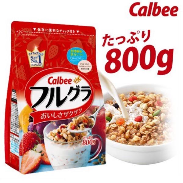 Chính hãng - Ngũ cốc sấy khô Calbee nội địa Nhật 800g (HSD: 2021)
