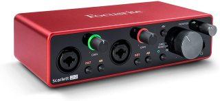 Sound card Focusrite Scarlett 2i2 gen 3 thumbnail
