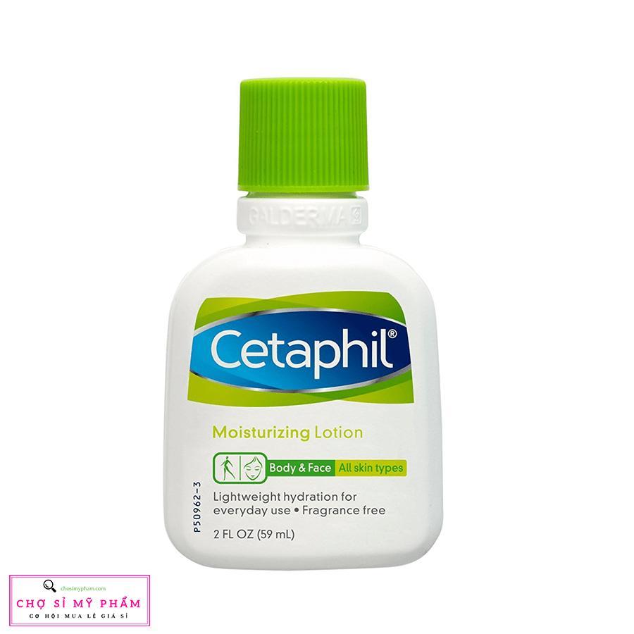 Kem dưỡng ẩm dịu nhẹ cho mọi loại da kể cả da nhạy cảm Cetaphil Moisturizing Lotion 59ml