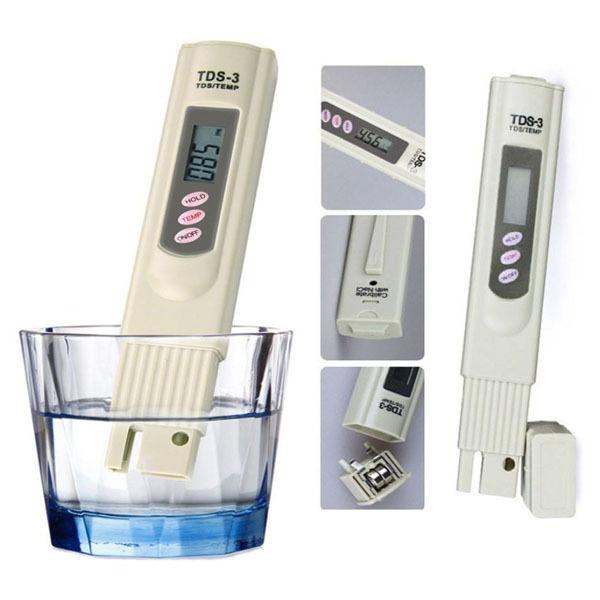 Bút Thử Chất Lượng Nước TDS, bút thử nước xiaomi , độ chính xác cao, có kết quả sau 2s, dễ sử dụng ( đã bao gồm pin)