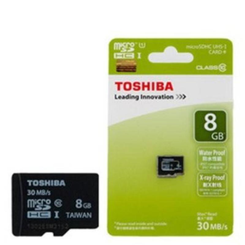 Thẻ Nhớ Micro SD Toshiba 8G Class 4 Box Xanh