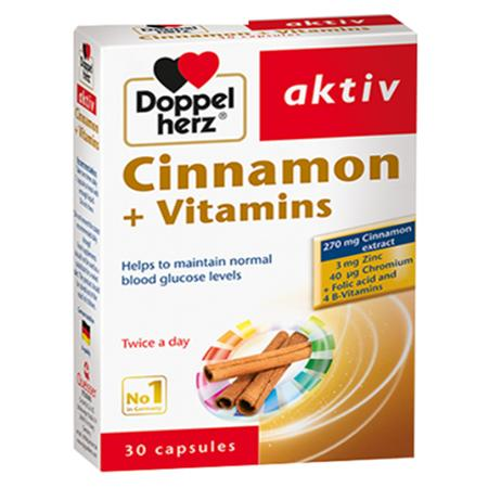 DOPPEL HERZ CINNAMON + VITAMINS nhập khẩu