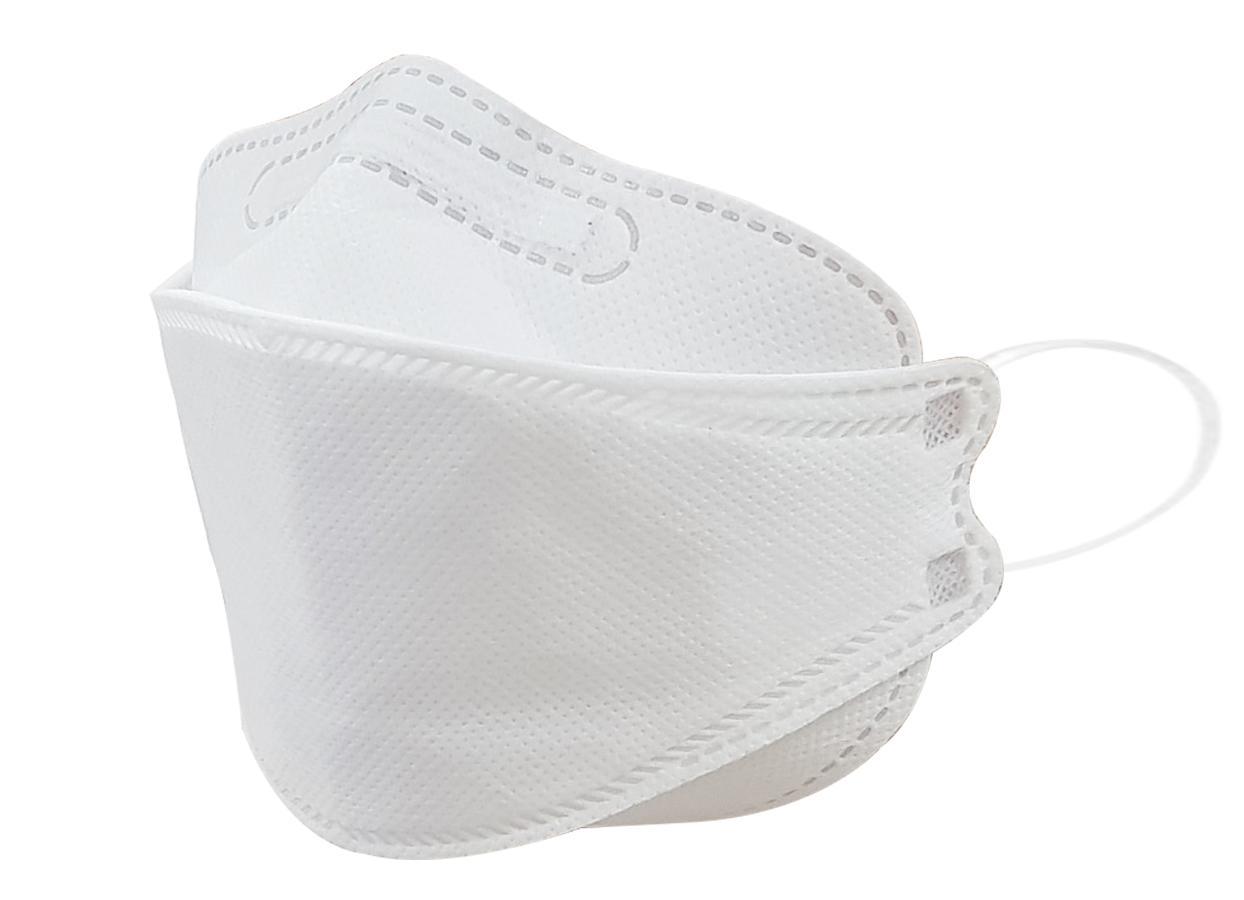 Combo 10 khẩu trang KF94 trắng chống bụi mịn, kháng khuẩn, an toàn cho sức khỏe (không hộp) nhập khẩu