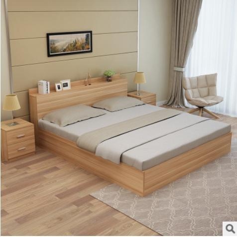 Giường ngủ gỗ GM10001-R ( 1600x350x2000)
